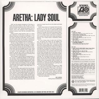 Aretha Franklin -- Lady Soul LP