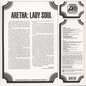 Aretha Franklin ‎– Lady Soul LP