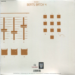 J-Dilla -- Beats Batch 4 10''