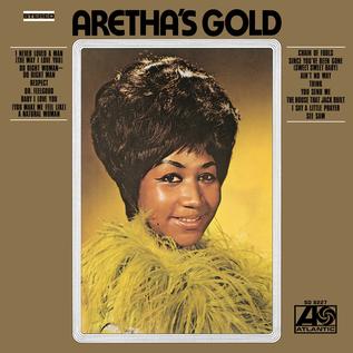 Aretha Franklin -- Aretha's Gold LP gold vinyl