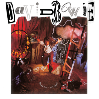 David Bowie -- Never Let Me Down LP