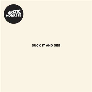 Arctic Monkeys -- Suck It And See LP with download