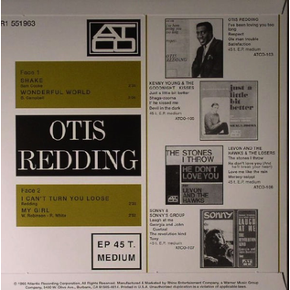 OTIS REDDING - SHAKE 7''