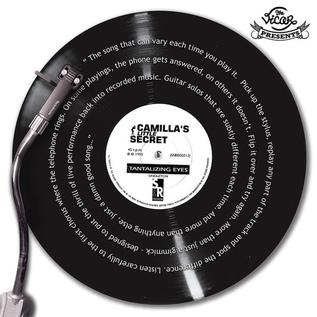 Camilla's Little Secret (Robert Fripp) – Tantalizing Eyes  12'' vinyl