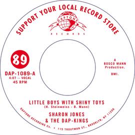SHARON JONES & THE DAP-KINGS - LITTLE BOYS WITH SHINY TOYS 7'' black vinyl