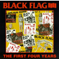 Black Flag -- The First Four Years LP