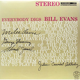 Bill Evans Trio ‎– Everybody Digs Bill Evans LP
