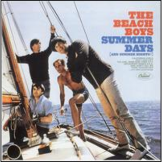 BEACH BOYS -- SUMMER DAYS (and summer nights!) LP
