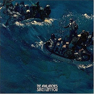 Avalanches -- Since I Left You LP colored vinyl