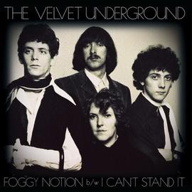 Velvet Underground -- Foggy Notion 7'' gold vinyl
