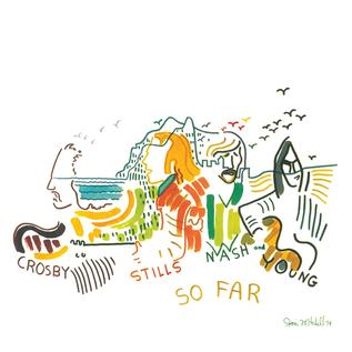 Crosby, Stills, Nash & Young – So Far LP white vinyl
