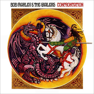 Bob Marley & The Wailers -- Confrontation LP