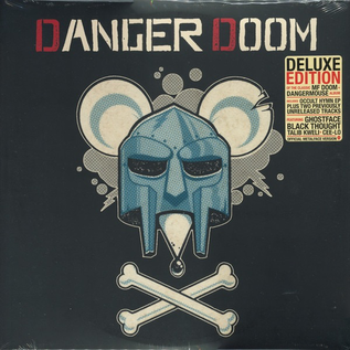 Danger Doom -- The Mouse And The Mask CD metalface edition