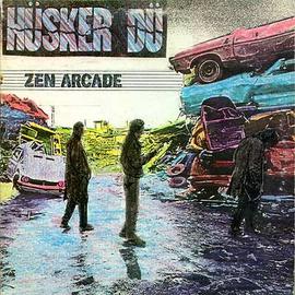 SST Hüsker Dü (Husker Du) -- Zen Arcade LP