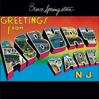 Bruce Springsteen -- Greetings From Asbury Park N.J. LP
