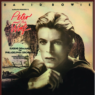 David Bowie Narrates Prokofiev Eugene Ormandy The Philadelphia Orchestra Britten* -- Peter And The Wolf / Young Person's Guide To The Orchestra LP