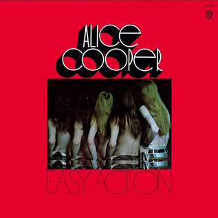 Alice Cooper - Easy Action LP gold vinyl