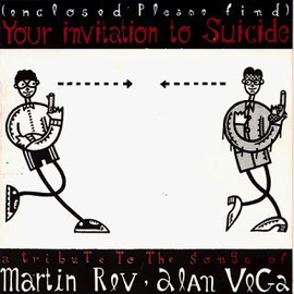 VARIOUS ARTISTS - INVITATION TO SUICIDE 7'' (A Tribute To The Songs Of Martin Rev & Alan Vega)