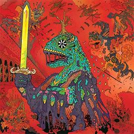 King Gizzard And The Lizard Wizard -- 12 Bar Bruise LP green vinyl