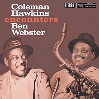 Coleman Hawkins & Ben Webster - Coleman Hawkins Encounters Ben Webster LP