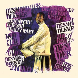 Desmond Dekker - You Can Get It If You Really Want LP black & blue marble vinyl