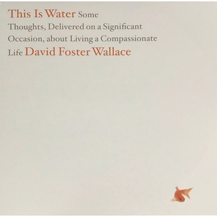 David Foster Wallace -- This Is Water LP blue & white starburst vinyl
