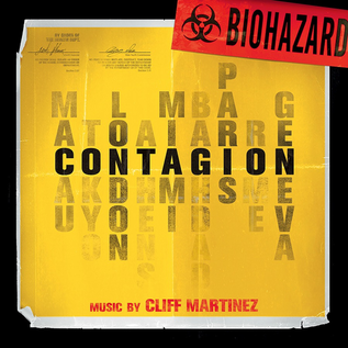 Cliff Martinez - Contagion--Original Motion Picture Soundtrack LP gold & red ''Biohazard'' vinyl