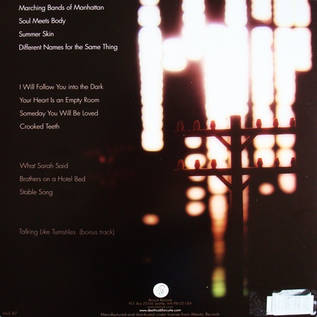 Death Cab For Cutie -- Plans LP