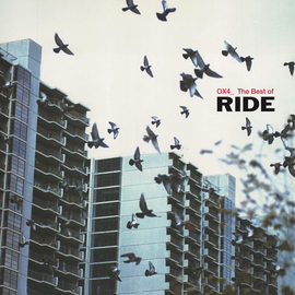Ride ‎– OX4_ The Best Of Ride  LP red vinyl