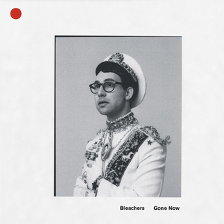 Bleachers ‎– Gone Now LP red and white marbled vinyl
