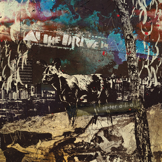 At The Drive In ‎– in•ter a•li•a LP deep purple w/grimace splatter vinyl