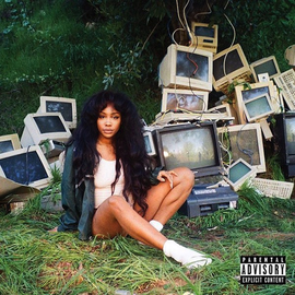 SZA ‎– Ctrl LP translucent green vinyl