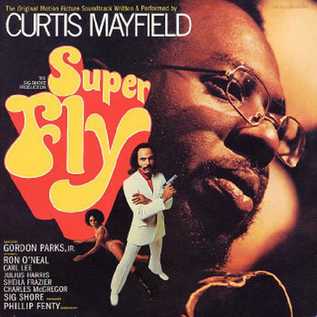 Curtis Mayfield - Superfly soundtrack LP