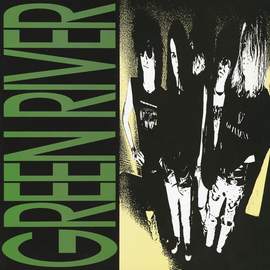 Green River - Dry As A Bone LP deluxe edition green vinyl
