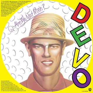 Devo - Q: Are We Not Men? A: We Are Devo! LP picture disc