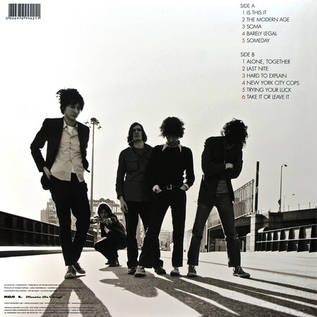Strokes ‎– Is This It LP import version