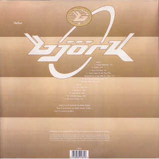 Björk (Bjork) – Debut LP