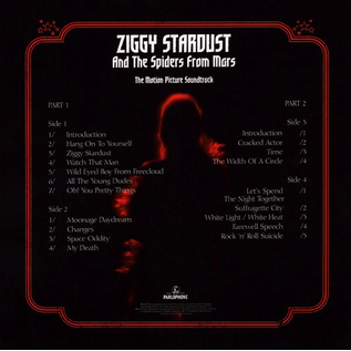 David Bowie - Ziggy Stardust And The Spiders From Mars (The Motion Picture Soundtrack) LP