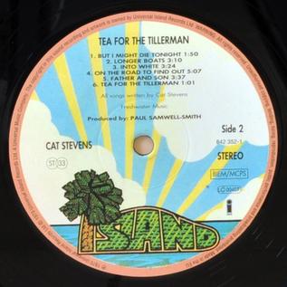 Cat Stevens – Tea for the Tillerman LP