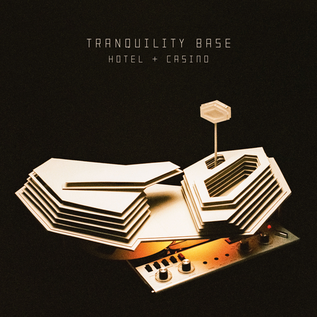 Arctic Monkeys - Tranquility Base Hotel & Casino LP clear vinyl