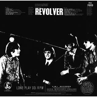 Beatles -- Revolver LP