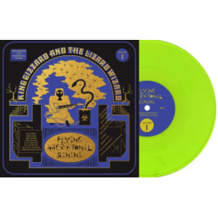 King Gizzard And The Lizard Wizard ‎– Flying Microtonal Banana LP colored vinyl