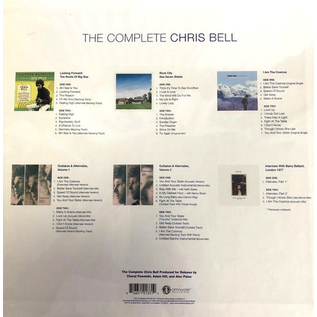 Chris Bell - The Complete Chris Bell LP box set
