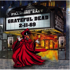 GRATEFUL DEAD - LIVE AT THE FILLMORE EAST 2-11-69 LP