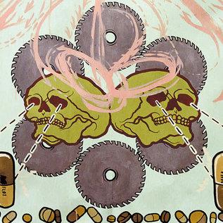 Agoraphobic Nosebleed -- Frozen Corpse Stuffed With Dope LP oxblood vinyl