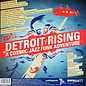 Detroit Rising ‎– A Cosmic Jazz Funk Adventure LP sea foam green