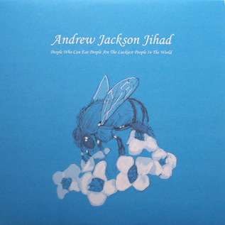 Andrew Jackson Jihad ‎– People Who Can Eat People Are The Luckiest People In The World LP half & half random colour vinyl