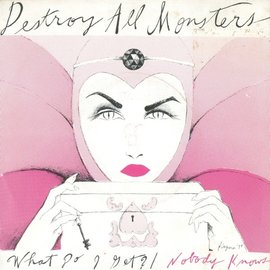 Destroy All Monsters ‎– What Do I Get / Nobody Knows 7""