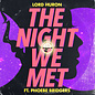 "Lord Huron -- the Night We Met 7"""