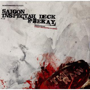 "Saigon, Inspectah Deck, Bekay – The Raw (Red Vinyl 7"")"